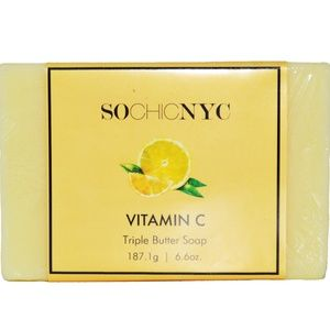 Other - Triple Butter Soap-Vitamin C With Lemon Peel Powde